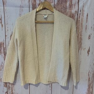 CREWCUTS CARDIGAN WOOL MOHAIR BLEND KIDS SIZE 10